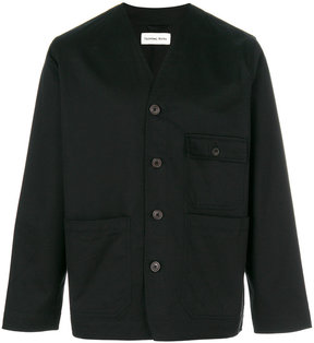 Universal Works button up V neck jacket