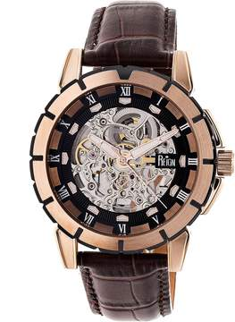 Reign Philippe Automatic Black Dial Men's Watch