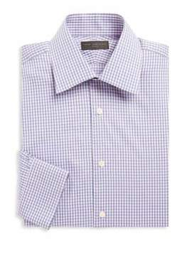 Ike Behar Cotton Check Shirt