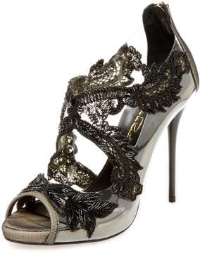 Oscar de la Renta Women's Ambria 115 Embellished Sandal