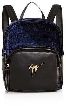 Giuseppe Zanotti Velvet Backpack - 100% Exclusive