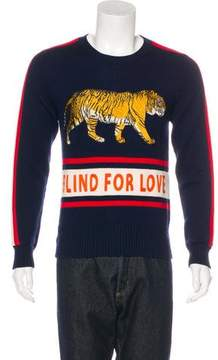 Gucci 2017 Wool Blind For Lover Sweater