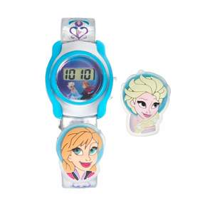 Disney Disney's Frozen Anna & Elsa Kids' Digital Charm Watch