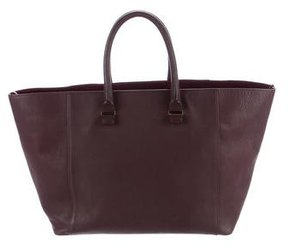 Victoria Beckham Leather Liberty Tote