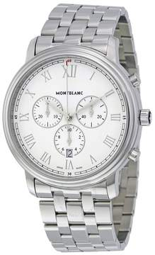 Montblanc Tradition Chronograph White Dial Men's Watch
