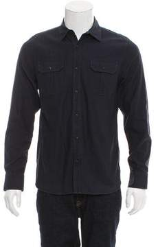 Frame Utility Button-Up Shirt