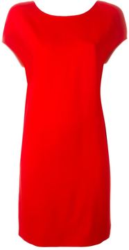 Agnona scoop back short dress