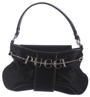 Emilio Pucci Logo Mini Satin Bag