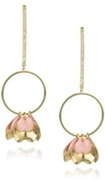 Danielle Nicole Blossom Petal Drop Earrings
