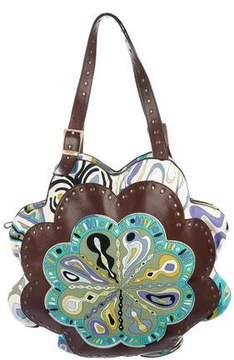 Emilio Pucci Signature Print Shoulder Bag