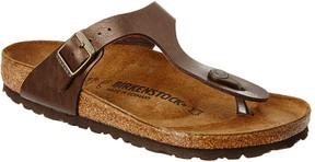Birkenstock Gizeh Birko-Flor Leather Sandal
