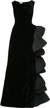 Alberta Ferretti dress with large ruffle