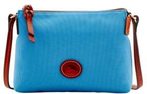Dooney & Bourke Nylon Crossbody Pouchette Shoulder Bag - DUSTY BLUE - STYLE
