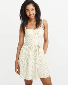 Abercrombie & Fitch Belted Corset Dress