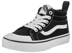 Vans Kids Racer Mid (canvas) Skate Shoe.