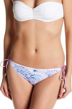 Dolce Vita Seashell Print Tie Side Bikini Bottoms