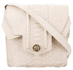 Reece Hudson Python Shoulder Bag