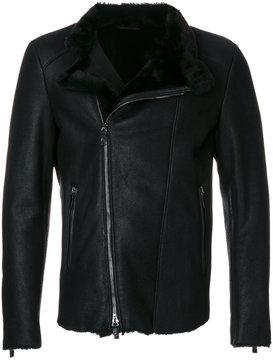 Giorgio Armani classic biker jacket