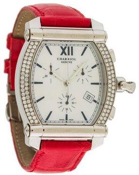 Charriol Diamond Columbus Watch