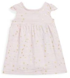 Aden Anais aden + anais Baby's Star Flutter Sleeve Dress