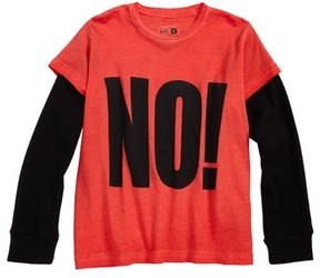 Nununu Boy's No! Graphic T-Shirt