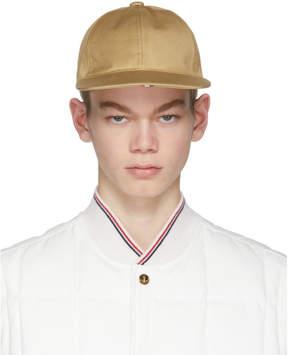 Thom Browne Khaki Baseball Cap