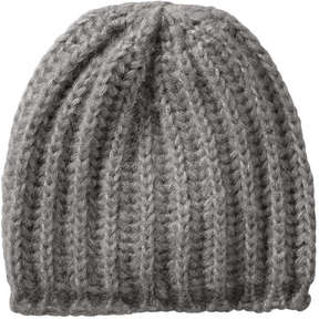 Joe Fresh Women's Jersey Knit Hat, Dark Grey (Size O/S)