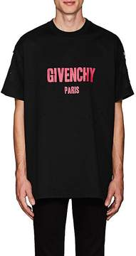Givenchy Men's Distressed Cotton Columbian-Fit T-Shirt