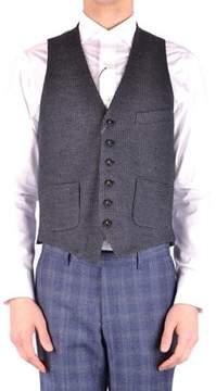 Manuel Ritz Men's Grey Acrylic Vest.