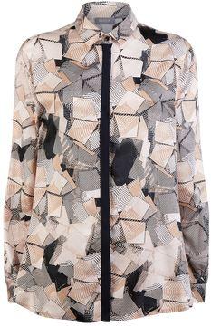 Basler Geometric Printed Shirt