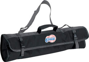 Picnic Time 3-Piece BBQ Tote Los Angeles Clippers Print