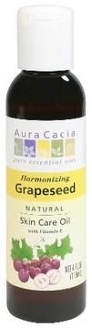 Aura Cacia Grape seed Natural Skin Care Oil - 4 oz