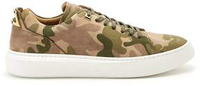 Buscemi Uno low-top suede trainers