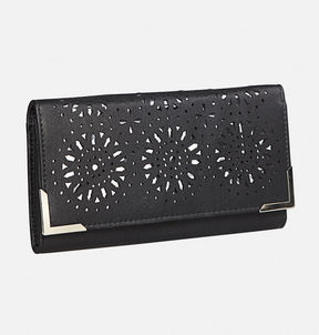 Avenue Cutout Trifold Wallet