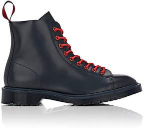 Off-White MEN'S LES LEATHER BOOTS