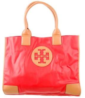 Tory Burch Ella Tote - ORANGE - STYLE