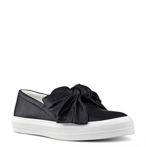 Nine West Women's Onosha Bow Slip-On Sneaker