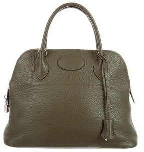 Hermes Clemence Bolide 31 - GREEN - STYLE