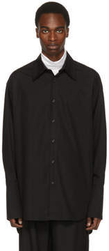 Yang Li Black Big Shirt