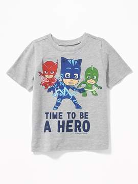 Old Navy PJ Masks Time to Be A Hero Tee for Toddler Boys