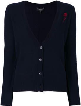 Emporio Armani cashmere V-neck cardigan