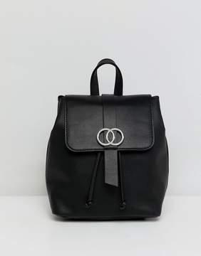 Asos DESIGN mini double circle backpack
