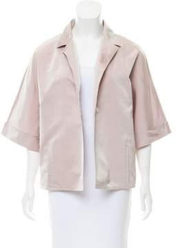 Dusan Silk Short Sleeve Jacket