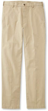 L.L. Bean Tropic-Weight Chino Pants, Natural Fit Plain Front