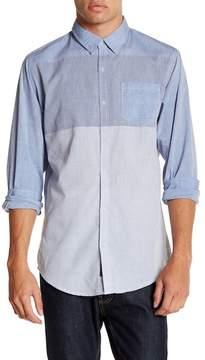 Burnside Regular Fit Stripe Shirt