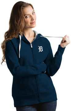 Antigua Women's Detroit Tigers Victory Full-Zip Hoodie