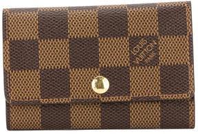 Louis Vuitton Damier Ebene Canvas Multicles 6-Key Case - BROWN - STYLE