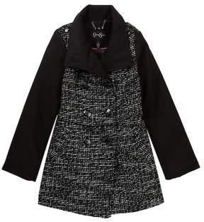 Jessica Simpson Tweed Church Coat (Big Girls)