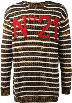 No.21 logo jumper