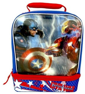 Marvel Captain American Lunch Bag